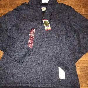 Woolrich Sweater Fleece 1/4 Zip Pullover Size XL